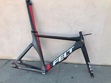 New Felt TK1 Carbon Track Bike Frameset 55cm Fixed Gear