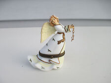 Midwest Of Cannon Falls Bisque Angel Trinket Box