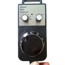 6 axis MPG manual pulse generator encoder Mitsubishi 12V 25PPR+5m spring wire