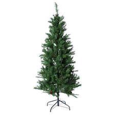 Albero di Natale slim verde con pigne 230 cm memory shape Norimberga