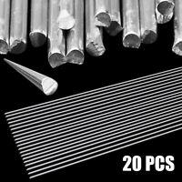 20x 2.0mm*500mm Low Temperature Aluminum Welding Wire Solder Rod Set Kit