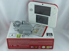 Nintendo 2DS Konsole - Farbe Weiß&Rot - OVP - Ladekabel - Guter Zustand