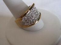Stunning Park Lane Hostess Ring w/ Swarovski Crystals, NWT Sizes 5.25, 6.25