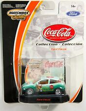 Matchbox Collectibles 01 Ford Focus, Coca-Cola, Real Rubber Tires