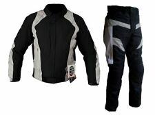 Tuta completo giubbotto giacca e pantaloni da per moto con protezioni OMOLOGATE
