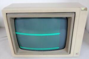 Vintage Europlus 240V Apple II Green Phosphor Tilt Monitor A2M2010P/825-0570-B