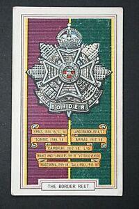Border Regiment  1914/18  World War 1  Battle Honours Card