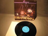 LP-Vinyl Schallplatte.Saga DDR,Amiga Pressund 1985-LP-vinyl record