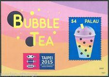 Palau 2015 Bubble Tea Souvenir Sheet Mint Nh