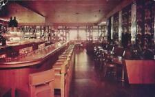 CA - MIKE LYMAN'S FLIGHT DECK Restaurant Older 1950 Postcard - LAX