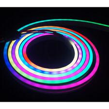 6.6ft 2m 5v ws2812b RGB Dream Color LED Neon Sign pixel Addressable Strip Light