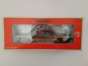 1996 Lionel Depressed - Center Flatcar with ERTL Case 4WD Tractor 6-16957