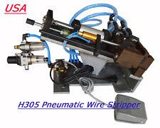H305 Pneumatic Wire Stripper,Cable Stripper, Air Wire Stripping Machine 110v