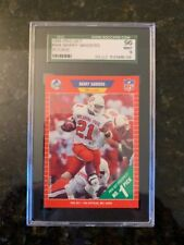 1989 PRO SET #494 BARRY SANDERS ROOKIE...........SGC 96