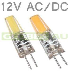 12V AC/DC WARM COOL WHITE LED GLOBE G4 Light Bulb Garden Camper COB