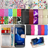 For Samsung Galaxy Xcover 3 G389F - Wallet Leather Book Case Flip Cover & Stylus