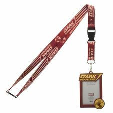 Marvel Iron Man Stark Industries Lanyard with ID Holder New
