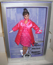 #7815 RARE NRFB Breakfast at Tiffany Audrey Hepburn in Pink Princess