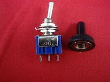 Lot Of 10 Spdt Miniature Toggle Switches On Off On 3pin Maintained Water Proof