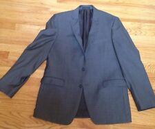 Calvin Klein Mens Gray Slim Fit Suit 42L