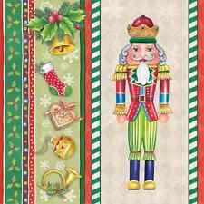 Christmas 20 Paper Lunch Napkins CHRISTMAS NUTCRACKER Winter Snow Ballet / D
