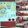 Scania / Man / Volvo Johs. Rasmussen Svebolle Générique Sheet I 1:87 Sticket -