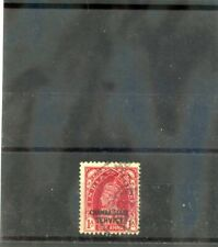 INDIA (CHAMBA) Sc O51(SG O67)F-VF USED 1938 1a CARMINE, GEORGE VI, $24