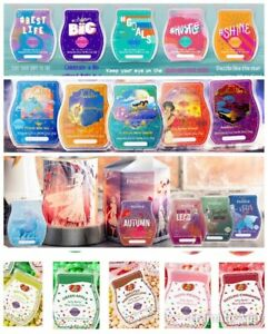 SCENTSY Wax Bar DISNEY Jack NFL & Scents of Season & SPECIAL ED COLLECTIONS
