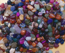 3mm - 5mm ASSORTED TINY POLISHED TUMBLESTONE GEM CHIP CRYSTALS 100 grams