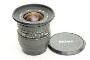 für Sony A-mount,  Sigma AF Zoom 18-35mm 1:3.5-4.5 - Minolta AF