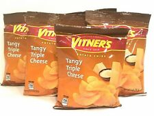 VITNER'S Tangy Triple CheesePotato Chips A Chicago Original 8 Pack 1 oz bags