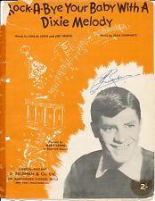 Rock-a-bye il tuo bambino con una melodia Dixie-JERRY LEWIS - 1956 SPARTITI MUSICALI
