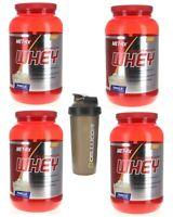 4 Pack Met-Rx 100% Ultramyosyn Whey VANILLA 8 Lbs 120 Servings + Free Shaker