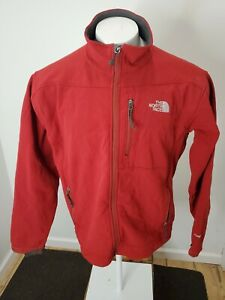 The North Face TNF Apex Softshell Insulated Jacket Men's L Red Ski Snow Lined