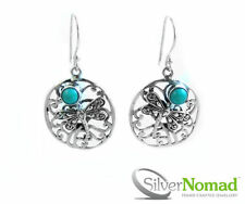 Turquoise Not Enhanced Sterling Silver Fine Jewellery