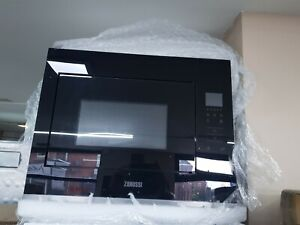 New Unboxed Zanussi ZMBN4SK 900 Watt Microwave Built In Black