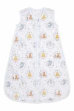 aden + anais Essential Sleeping Bag 1.0 TOG (0-6 Months) 100% Muslin Cotton Winnie Friends ESEC10022DI