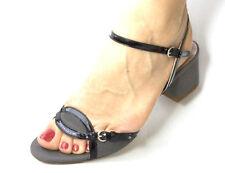 new $310 L'AUTRE CHOSE gray SANDALS shoes Italy 37.5 US 7.5