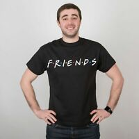 Friends T-Shirt Unisex Short Sleeve Women Printed Tee Men`s Cotton TV Show Shirt