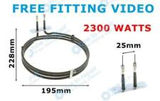 GENUINE cooker fan oven element for DIPLOMAT ACA3202 ACA4400 + free fit video