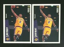 1996/97 Upper Deck Collectors Choice Kobe Bryant Rookie RC Lot x 2