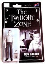 Figurine THE TWILIGHT ZONE (La 4ème dimension) - DON CARTER - Neuve