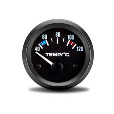 2'' 52mm Pointer White Digital LED Electronic Water Temp Temperature Gauge 12V