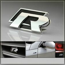 R Racing Black Metal Sticker Honda City Amaze Jazz Brio Accord Civic