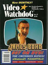 VIDEO WATCHDOG Magazine #57 - James Bond - Existenz - Pleasantville - 2000