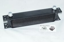 9 ROW MOCAL STYLE EXTERNAL OIL COOLER AN -10 FITTINGS FORD TOYOTA NISSAN 1JZ 2JZ