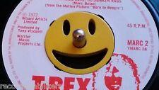 Emoticono Sonriente Cara 45 RPM vinyl record Adaptador para centro agujero del husillo.