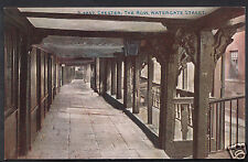 Cheshire Postcard - Chester: The Row, Watergate Street    U1343