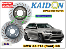 "BMW X5 F15 disc rotor KAIDON (front) type ""BS"" spec"