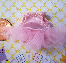Kelly Krissy Tiny Polymer Doll Clothes *Krissy's Pink Ballerina TuTu Dress*